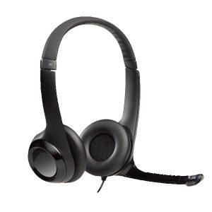 mejor precio auriculares logitech h390