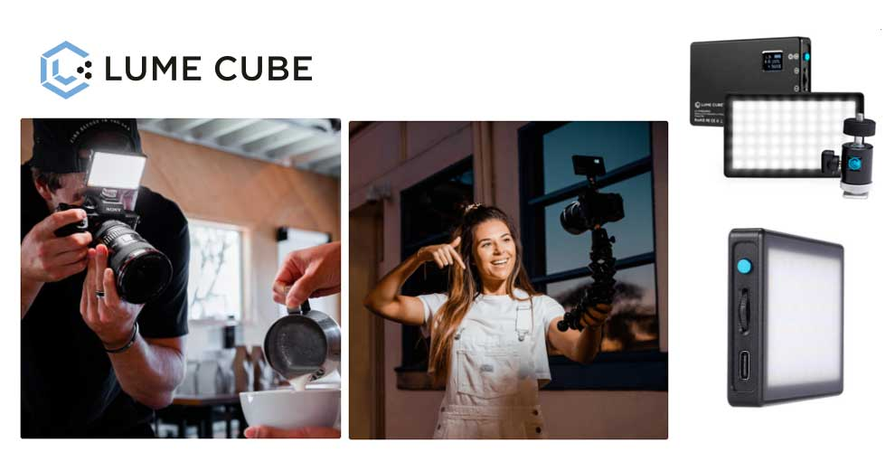 LUMECUBE presenta la nueva ANTORCHA LED PANEL MINI
