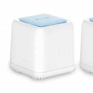 Talius redes Mesh [Pack 2 dispositivos] Sistema Wi-Fi AC1200 GigaLAN