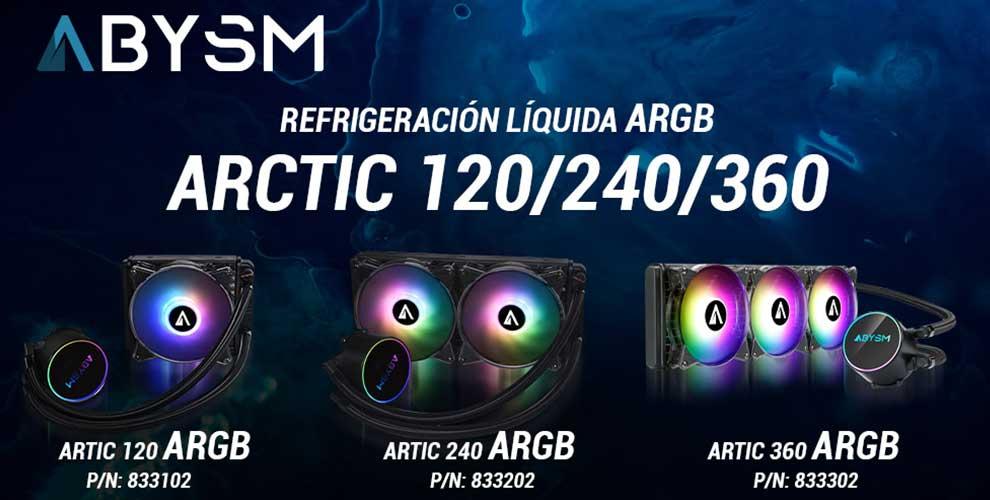 Refrigeración líquida TOP Artic ARGB de ABYSM