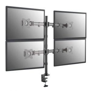 soporte mesa 4 monitores