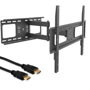promoción soporte tv y cable HDMI